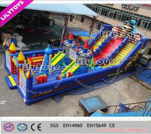 2015 Newest Customize Inflatable Slide Equipment for with Air Blower (Lilytoys-New-030)