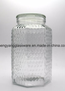 Free Sample Provide Large Glass Jar Juice Container Storage Jar with Tap pictures & photos
