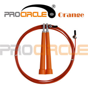 Professional Cable Wire Speed Jump Rope (PC-JR1039) pictures & photos