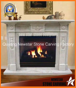 Marble Fireplace Mantel Granite Limestone Fireplace Surround pictures & photos