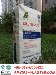E516 Food Grade Calcium Sulfate for Tofu HS 2833299090