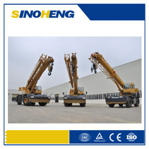 Manufacture Price 30 Ton Rough Terrain Crane Qry30 pictures & photos