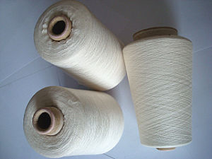 Viscose Wool Blenched Yarn Raw White pictures & photos
