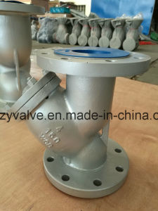 """API/DIN/JIS Class150 Cast Steel A216 Wcb 10"""" Dn250 Y Strainer pictures & photos"""