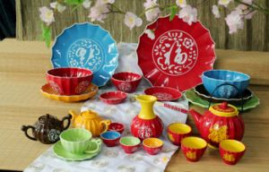 Houseware Ceramic & Tableware Porcelain Teapot Giftware Sets