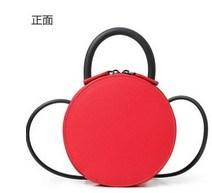 Women Small Round Bag Teen Girl′s Cross Body Bag (LDO-01664) pictures & photos