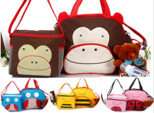 Cartoon Modeling Changing Pad Multifuctional Outdoor Travel Baby Diaper Bag pictures & photos