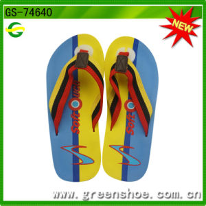 New Men′s Summer Beach EVA Slipper Factory (GS-74640) pictures & photos
