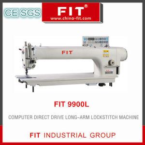 Computer Direct Drive Long-Arm Lockstitch Machine 9900L pictures & photos