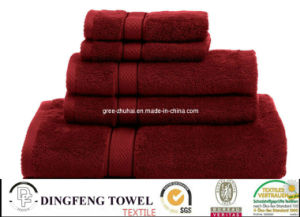 100% Cotton Hotel Towel Set pictures & photos