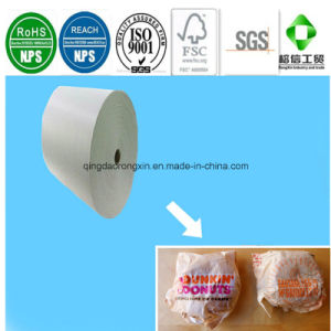 Single Side PE Coated Dunkin Donuts Food Packaging Paper pictures & photos