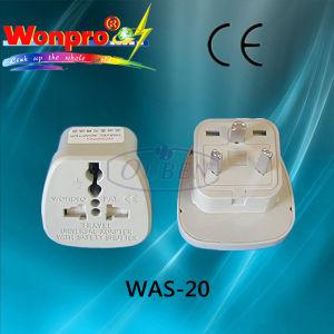 Plug Adaptor (Socket, Plug) (WAS-20) pictures & photos