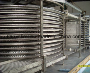 industrial Quick Freezer Double Spiral Type Quick Freezer pictures & photos