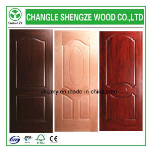 New Design HDF/MDF Melamine Molded Door Skin pictures & photos