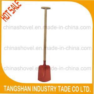 Farm Tool T Wood Handle Steel Shovel pictures & photos