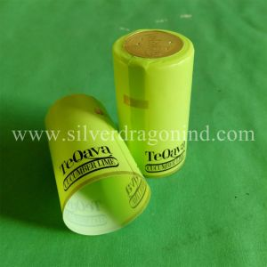 Embossed PVC Shrink Capsule for Sealing pictures & photos
