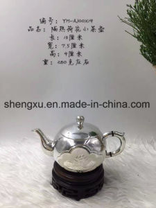 Chinese Popular Silver Using & Artwork Drinking Tea-Pot Sx-S3 pictures & photos