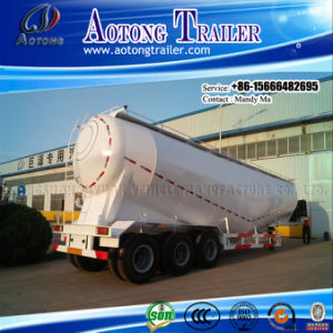 Tri-Axle Bulk Cement Tranker Truck Semi Trailer pictures & photos
