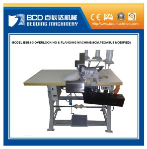 Bsbj-3 Heavy-Duty Overlocking and Flanging Machine pictures & photos