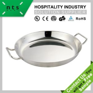 Paella Pan with Compound Bottom pictures & photos