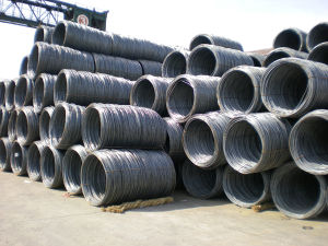 5.5mm Mild Carbon Ms Steel Wire Rod pictures & photos