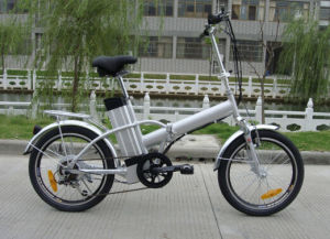 250W Folding Fat Tire Electric Bike Bicycle for Sale for Kids pictures & photos