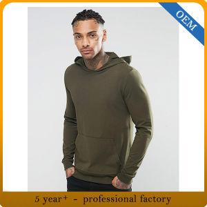 Custom High Quality 100% Cotton Man Hoody Sweatshirts pictures & photos