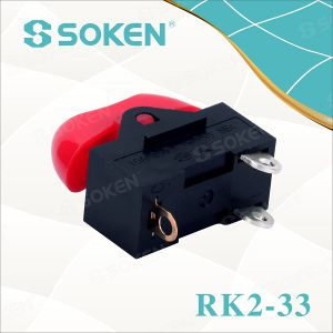 Hair Dryer Rocker Switch/ Mini on-off-on Switch T85 10A 250VAC pictures & photos