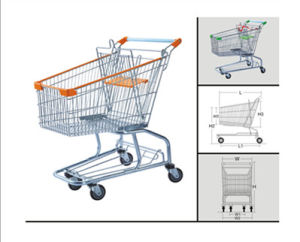 Suzhou Carts Trolley with Seat and Wheels (YD-T4) pictures & photos
