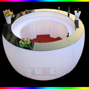 LED Round Bar Table Round Counter Club Table pictures & photos