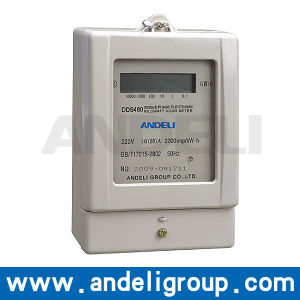Single Phase Prepaid Electric Meter (DDS480) pictures & photos