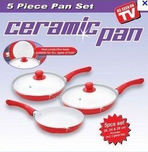 Aluminum Nonstick Ceramic Coating Fry Pan Skillet (UK-CF002)
