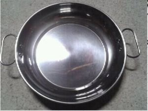 Stainless Steel Fry Pan with Double Handle pictures & photos
