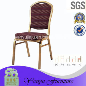 Hot Sale Stacking Hotel Banquet Restaurant Steel Fruniture Metal Chair