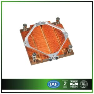Custom Passive Copper Heat Sink for Server pictures & photos
