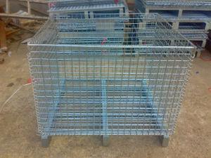 Steel Storage Cage/Wire Mesh Pallet (JW-CN1412972) pictures & photos