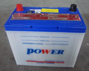 N40 12V40ah JIS Standard Lead Acid Dry Charged Car Battery pictures & photos