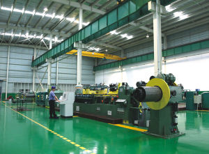 Full Automatic Transformer Lamination Cut to Length Line with Step-Lap Function (BHX-400) pictures & photos