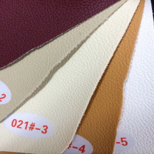 High Technical PU Upholstery Leather (HS021#) pictures & photos