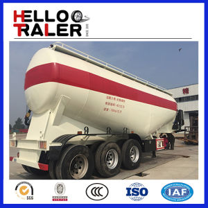 Three Axles 40cbm Bulk Cement Tank Trailer with Compressor pictures & photos