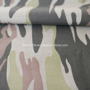 Cotton Camouflage Fabric for Military Use with Check (20X16/100X56) pictures & photos
