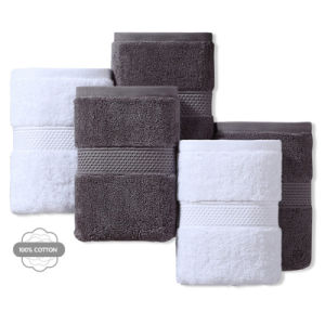 Cotton 100% Hotel Towel Guest Room Towel Manufacturer (TOW-002) pictures & photos