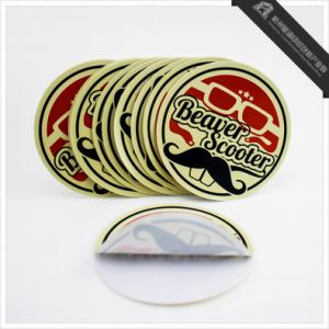 Die Cut Custom Round Logo Printing Stickers pictures & photos