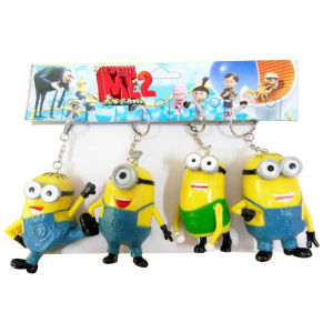 Hot Sale Despicable Me Key Chain 3D Key Ring (10163982) pictures & photos