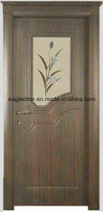 Asia Latest Design PVC Interior Wooden Doors (EI-P153) pictures & photos