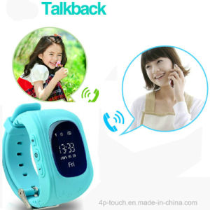 Kids Gift Watch Silicone Band GPS Tracker Watch pictures & photos