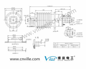 Bfw-40.5/12000-4 High-Current Transformer Bushing Used for Power Distribution pictures & photos