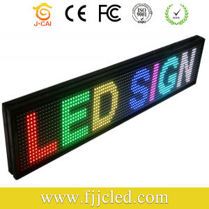 Scrolling Mono Color Tri-Color Programmable LED Sign for Shop pictures & photos