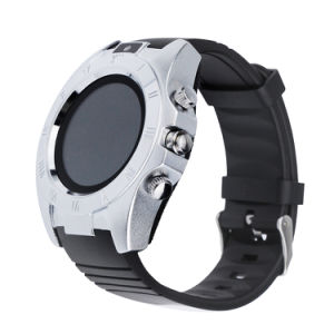 S5 Round Smart Watch with Camera Support SIM Card TF Bluetooth Fitness Tracker for Android Ios