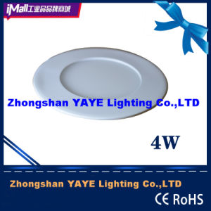 Yaye CE/RoHS Approval Round 4W LED Panel Light / LED Panel Lamp with 2/3 Years Warranty pictures & photos